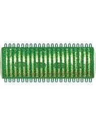 Fripac-Medis - Thermo Magic Rollers - Bigoudis - Vert - Diamètre : 21 mm - Lot de 12