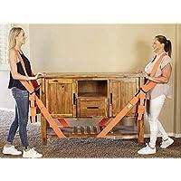Cintas de elevación y movimiento, Rishx correa móvil para muebles, correas y arneses de elevación y movimiento para 2 motores, sistema de elevación y movimiento de hombros para 2 personas