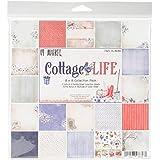 """49 & Market Collection Pack 8""""X8"""" - Cottage Life, 9 Des/2 Ea + Bonus Diecut (Pack of 1 )"""