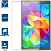 Beiuns Vidrio Templado Protector de Pantalla para Samsung Galaxy Tab S (pantalla: 8,4 pulgadas) SM-T700 SM-T705