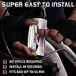 Luce-Anteriore-USB-Ricaricabile-per-Bicicletta-by-Apace-Potente-Luce-di-Sicurezza-Anteriore-per-Bici-Super-Luminosa-200-Lumen-per-una-Visibilit-Ottimale-in-Bicicletta