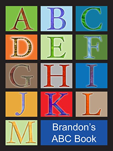 Brandon's ABC Book: African American Boy with Black Hair (English Edition)