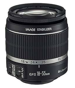 CANON EF-S 18-55mm 3,5-5,6 IS Universalzoom-Objektiv (58mm Filtergewinde, bildstabilisiert, Original Handelsverpackung)