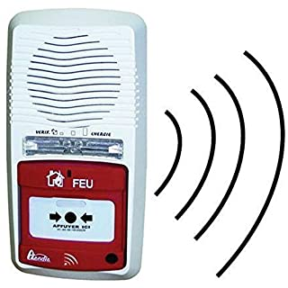 Alarmtyp 4 autonome Axendis Funkreichweite 100 Meter mit Repeater