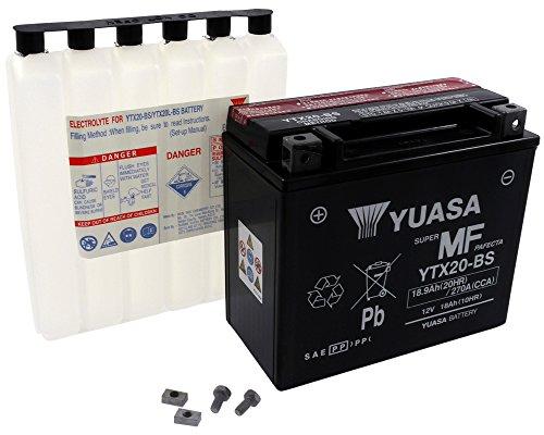 Batterie YUASA - YTX20-BS wartungsfrei für ARTIC CAT F5 Baujahr 07-09 [inkl. 7,50 EUR Batteriepfand] -