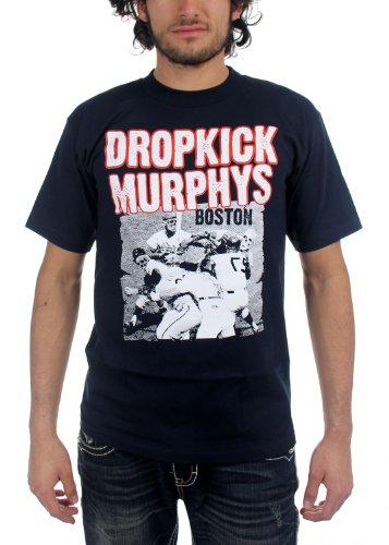 DROPKICK MURPHYS - Dropkick Murphys - Herren Basebrawl T-Shirt Black