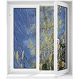 Hoberg Window pollen bescherming met innovatieve magnetische bevestiging, grijs
