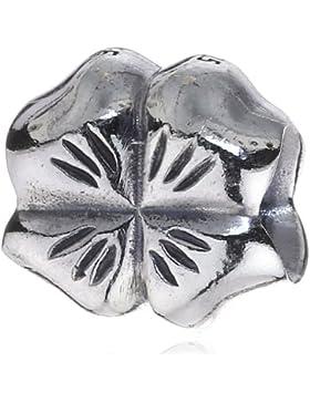 Pandora Damen-Bead  Sterling-Silber 925 Kleeblatt KASI 79157