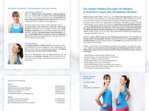 Pilates – für einen entspannten Nacken, lockere Schultern & einen starken Rücken (2 DVDs) - 4
