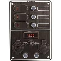Panel con voltímetro 3Interr.