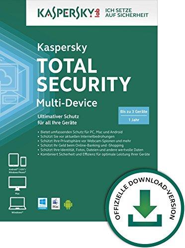 Kaspersky Total Security 2015 Multi-Device für bis zu 3 Geräte