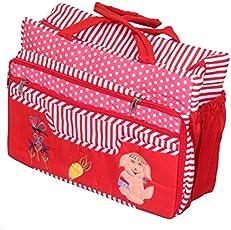 Kuber Industries Fabric 40 cms Multi Baby Bag (KUBNEJ98339)
