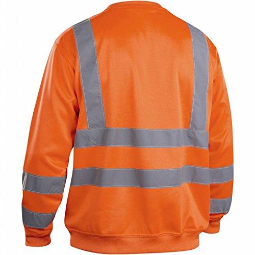 """Blakläder Pullover """"High-Vis"""", Klasse 3, 1 Stück, Größe XL, gelb, 334119743300XL orange"""