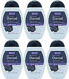 Bellezza formule con carbone attivo Body Wash 250ml (confezione da 6)