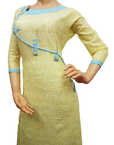 Ambika Creation Choice Women Stitched Cotton Kurtis/Kurtis for women