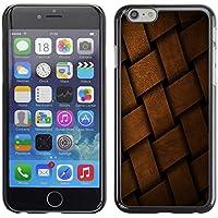 Qstar Art & Design plastica dura Guscio Protettivo Cassa Cover Per Apple iPhone 6(4.7 inches) (Shock Braid)