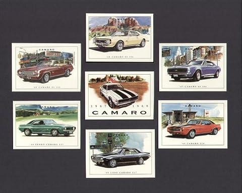 Chevrolet Camaro–1969Copo Camaro 427, 1969Camaro yenko 427, 1969Camaro Z28, 1969Camaro SS 396Convertible, 1968Camaro SS 396, 1967Camaro SS 396–Les Cartes