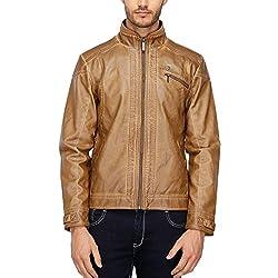 ARROW JEANS Mens Regular Fit Solid Jacket