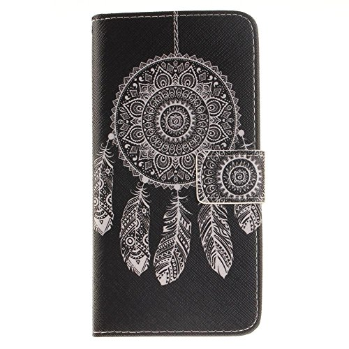 "Coque Protection Apple 5.5 iPhone 7 Plus,KATUMO Pochette iPhone 7 Plus/iPhone8 Plus Flip Case Cover Etui en Cuir Portefeuille Housse iPhone 7 Plus 5.5"" Coques-#2Or #1Noir"