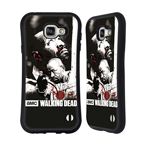 Ufficiale AMC The Walking Dead Morgan Sangue Case Ibrida per Samsung Galaxy A7 (2016)