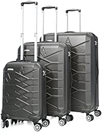 Aerolite Lightweight Hard shell Travel Luggage Suitcase- 4 Wheel Spinner Trolley Bag (5 Years Guarantee)