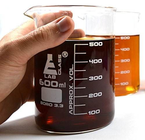 Premium, bicchiere da pinta (567gram), spessore vetro borosilicato, confezione da 2