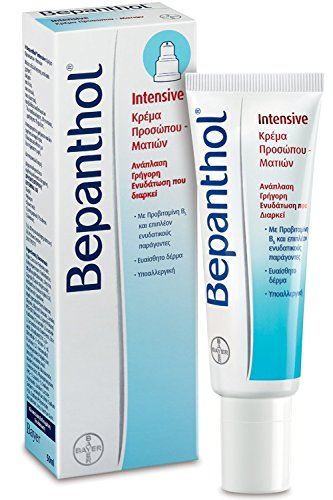Bepanthol Intensive Face - Eye Cream 50 ml - Long Lasting Moisturising Cream