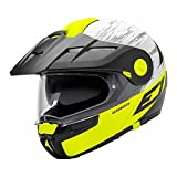 Schuberth E1Premium Flip Up aventura motocicleta casco-Crossfire amarillo