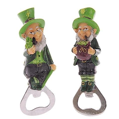 Puckator LEPR10 Lucky Leprechaun Bottle Opener, 3 x 4 x 12 cm