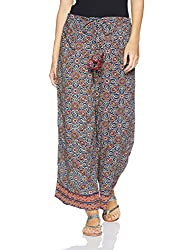 Fabindia Womens Parallel (10453089_Indigo_S)