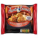 Aunt Bessies 10 Sage and Onion Pork Stuffing Balls, 250g (Frozen)