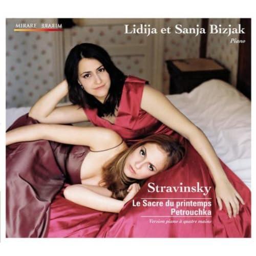 Le Sacre du printemps, Petrouchka: Version piano à quatre mains