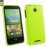 Emartbuy® HTC Desire 510 Shiny Gloss Gel Hülle Schutzhülle Case Cover Grün