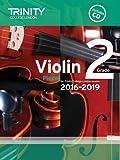 Violin Exam Pieces Grade 2 2016-2019 (Score, Part & CD)