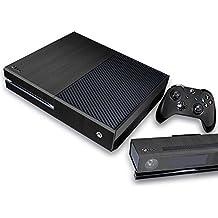 Pandaren® completos placas frontales Pegatinas de la piel para la consola Xbox One x 1 y el mando x 2 y kinect x 1(madera negro)