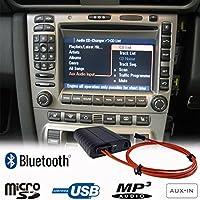 Bluetooth A2DP manos libres USB SD AUX adaptador para Porsche 911 997 Boxster Cayman Cayenne PCM2.0 / 2.1 CDR23 / 24 Kit de coche