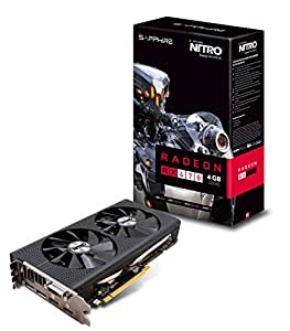 Sapphire Technology Nitro + Graphics Card ATI Radeon RX 4704GB GDDR5PCI Express 1246MHz