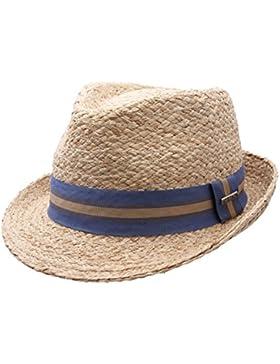 Stetson - Sombrero trilby hombre Mandalo Raffia