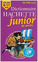 Dictionnaire Hachette junior de poche : CE-CM 8-11 ans
