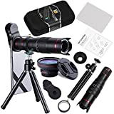Becemuru Phone Camera Lens 22 x Kit de téléobjectif avec zoom HD + Super grand...