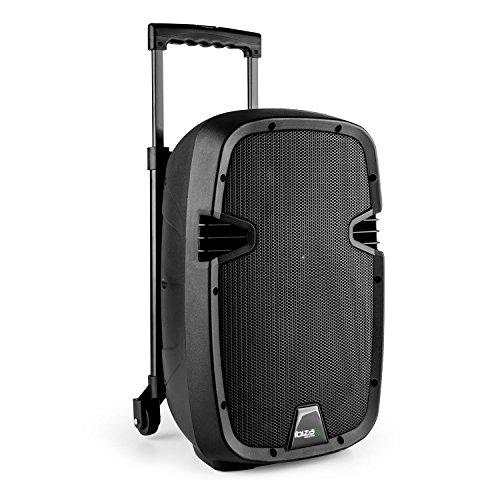 Ibiza hybrid10vhf-bt Sistema Audio Pa Bluetooth portatile, altoparlante attivo da 400W, amplificatore...