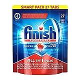 Finish All in 1 Plus, Spülmaschinentabs, Smartpack, 27 Tabs