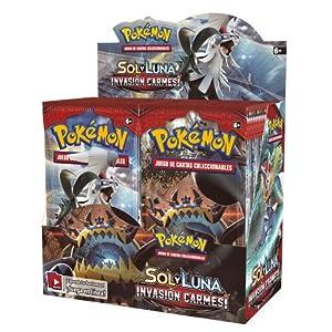 Pokemon JCC Caja de 36 Sobres de: Sol y Luna: Invasión Carmesí sobre - Español Color (The Pokémon Company POSMCI02D