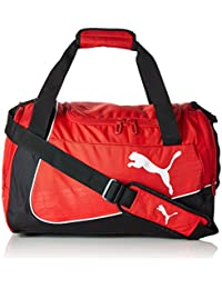 Puma Polyester 49 Cms Puma Red Black White Travel Duffle (7387903)