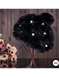 Qiaoba- Mme Pearl of Autumn and Winter Sweater Knit Hat