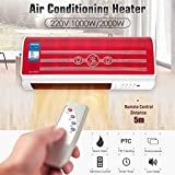 Ad Fresh 220V Wall-Mounted Remote Control Heater Home Energy Saving And Heating Heating