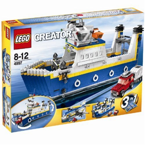LEGO-Creator-4997-Transport-Ferry