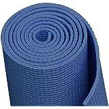 Onlymat Synthetic Yoga Mat, 180 cm x 60 cm x 4 mm(Blue)