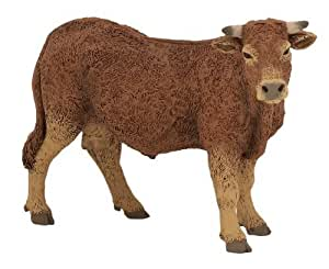 Papo 51131 Animal Figurine - Limousin Cow by Papo (English Manual)