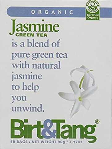Birt & Tang Organic Jasmine Teabags (Pack of 2, Total